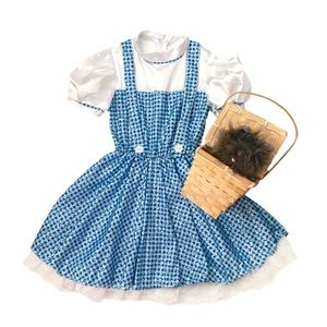 WIZARD OF OZ • Dorothy Costume with Toto Accessory